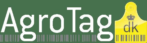 AgroTag logo mørk baggrund