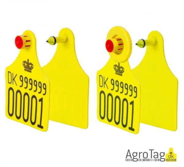 Officelt øremærke til kvæg fra AgroTag