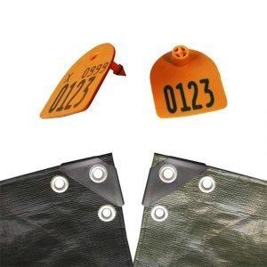 Presenningsmærke – Orange