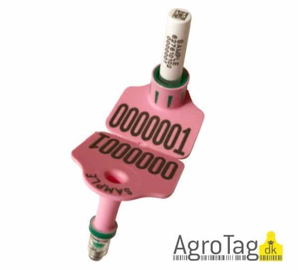AgroTag tsu mærke med vævsprøve beholder